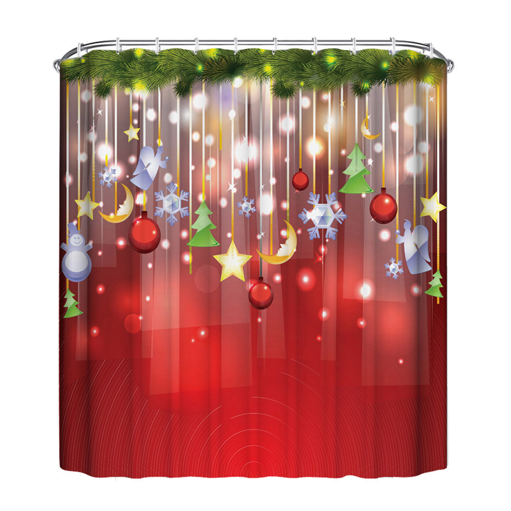 Christmas Shower Curtains Bed Bath And Beyond