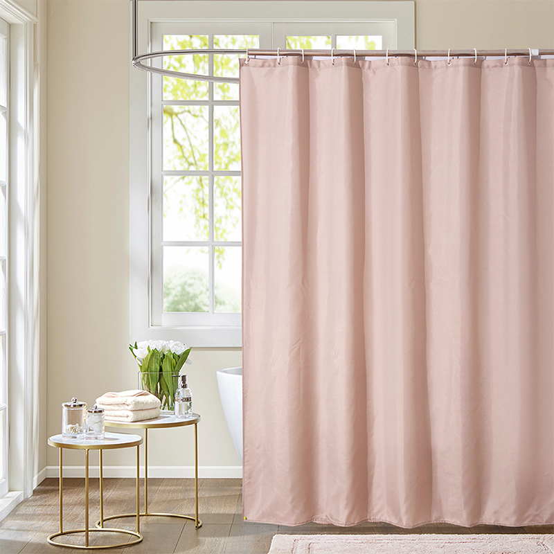 Cool Shower Curtains Cheap Brown Solid
