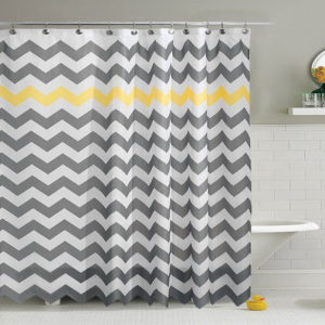 Custom Made Shower Curtains Simple Striped