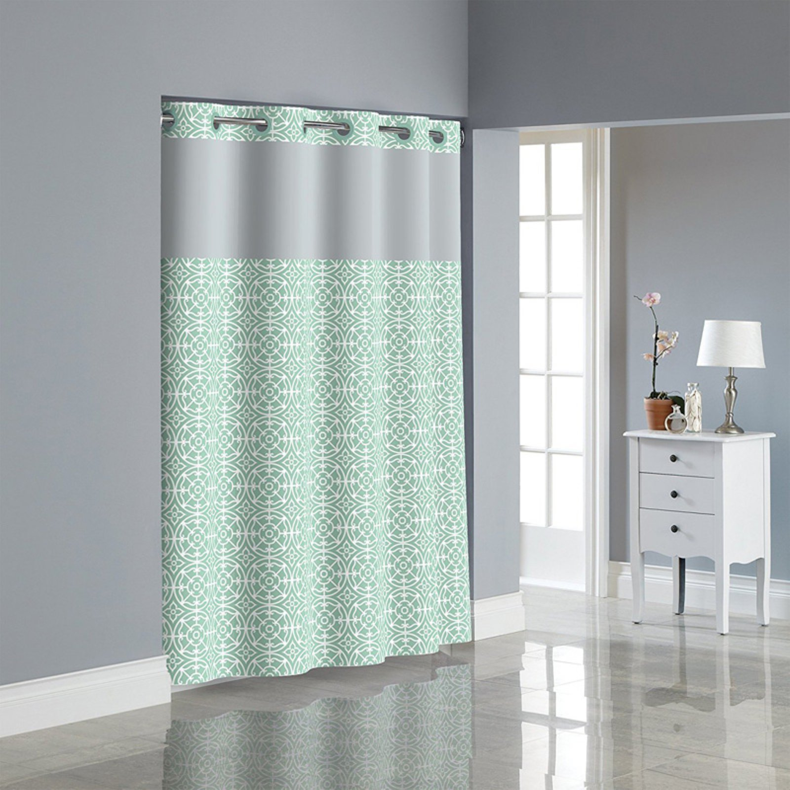 Kohls Shower Curtains Hookless