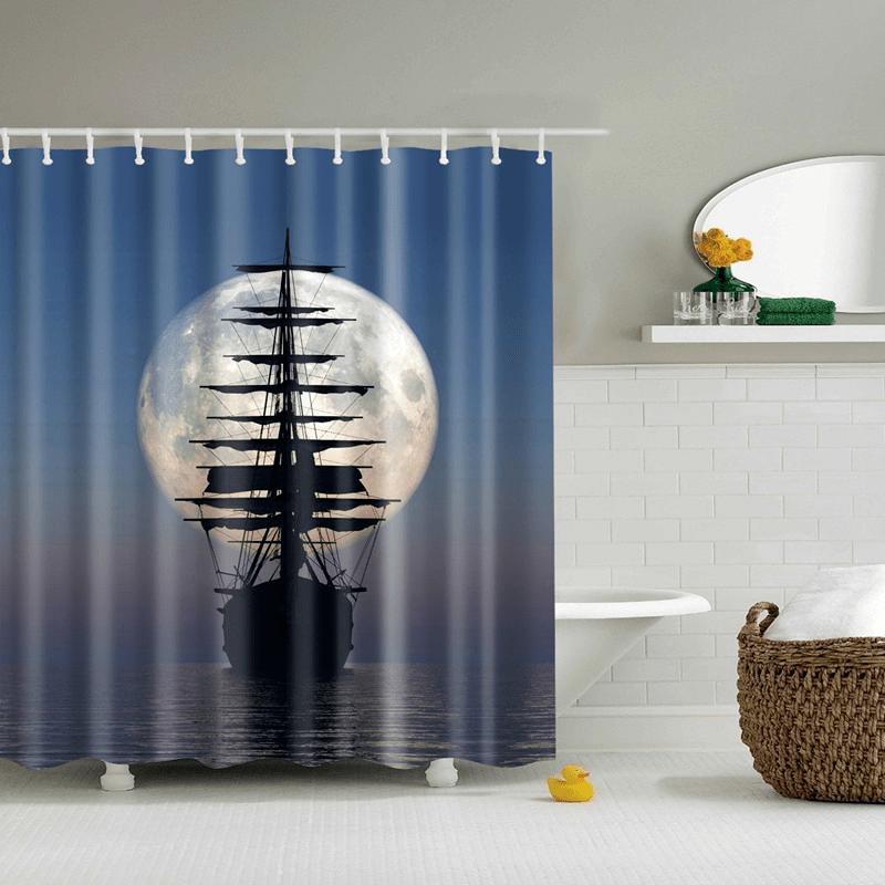 Unique Shower Curtains Sailing Ships Ship S Anchor Bath
