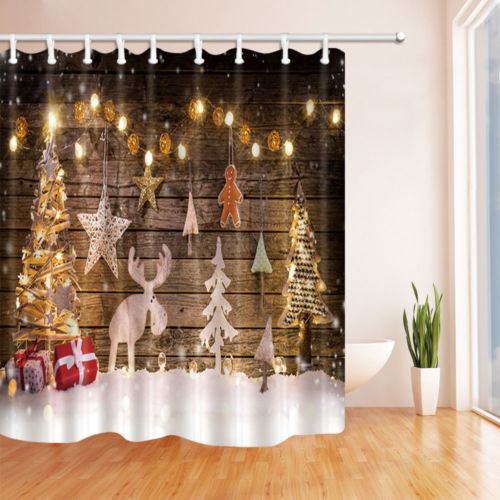 Amazon Christmas Shower Curtains