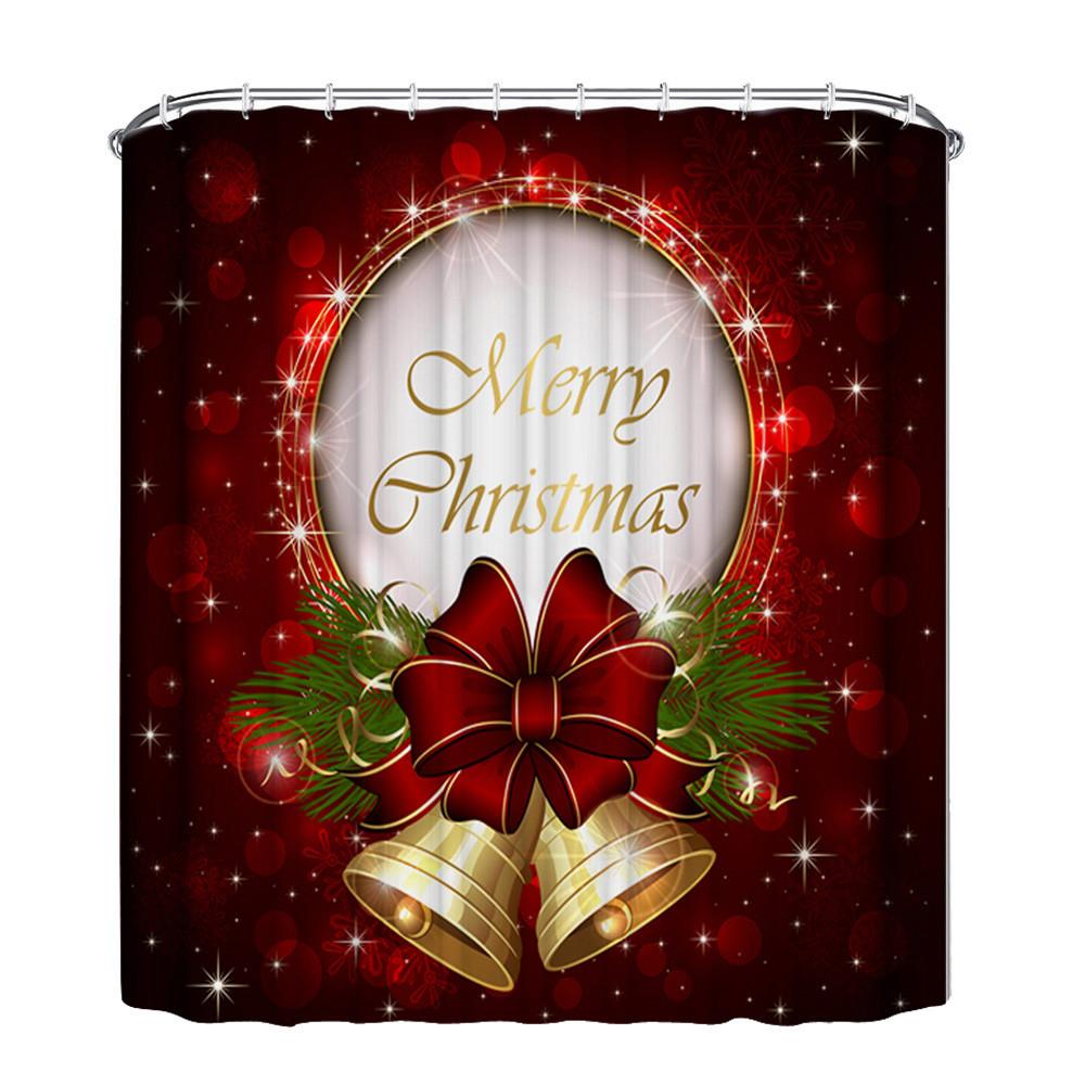 Christmas Bath Shower Curtains