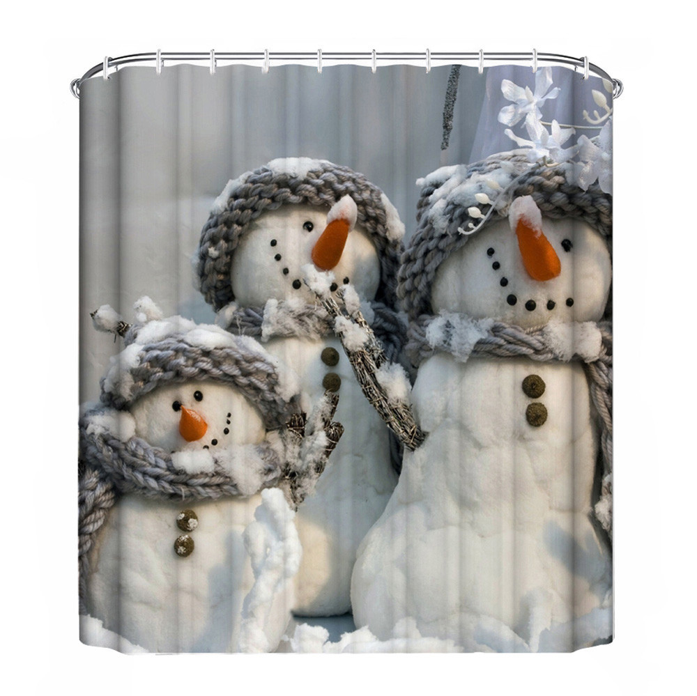 Christmas Shower Curtains Walmart