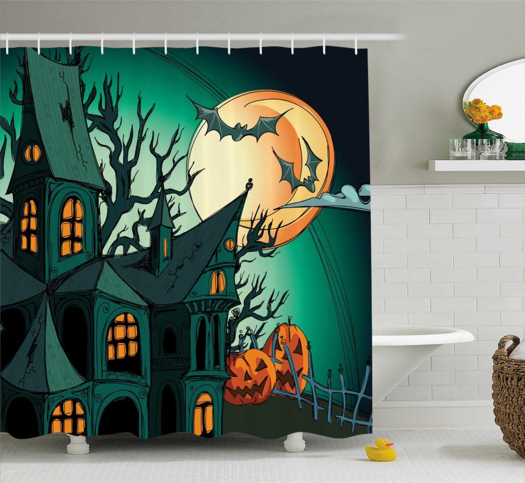Halloween Shower Curtains Kohls Bath Supplies Store