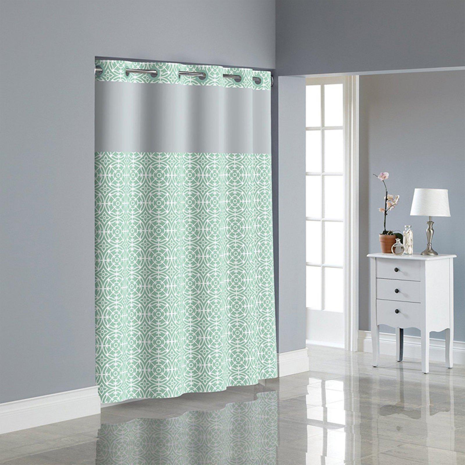 kohls shower curtains hookless | bath-supplies.store