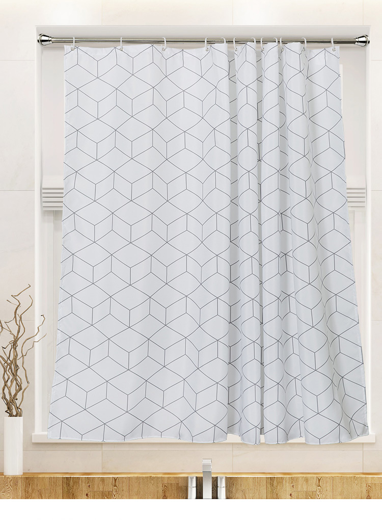 Seashell Fabric Shower Curtains