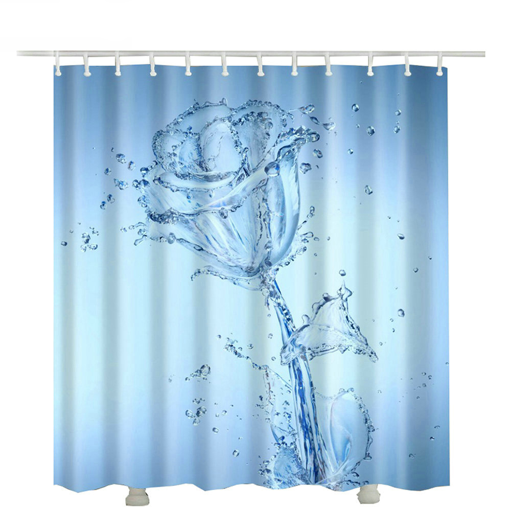 Shower Curtains Bed Bath And Beyond Flower Clear Water