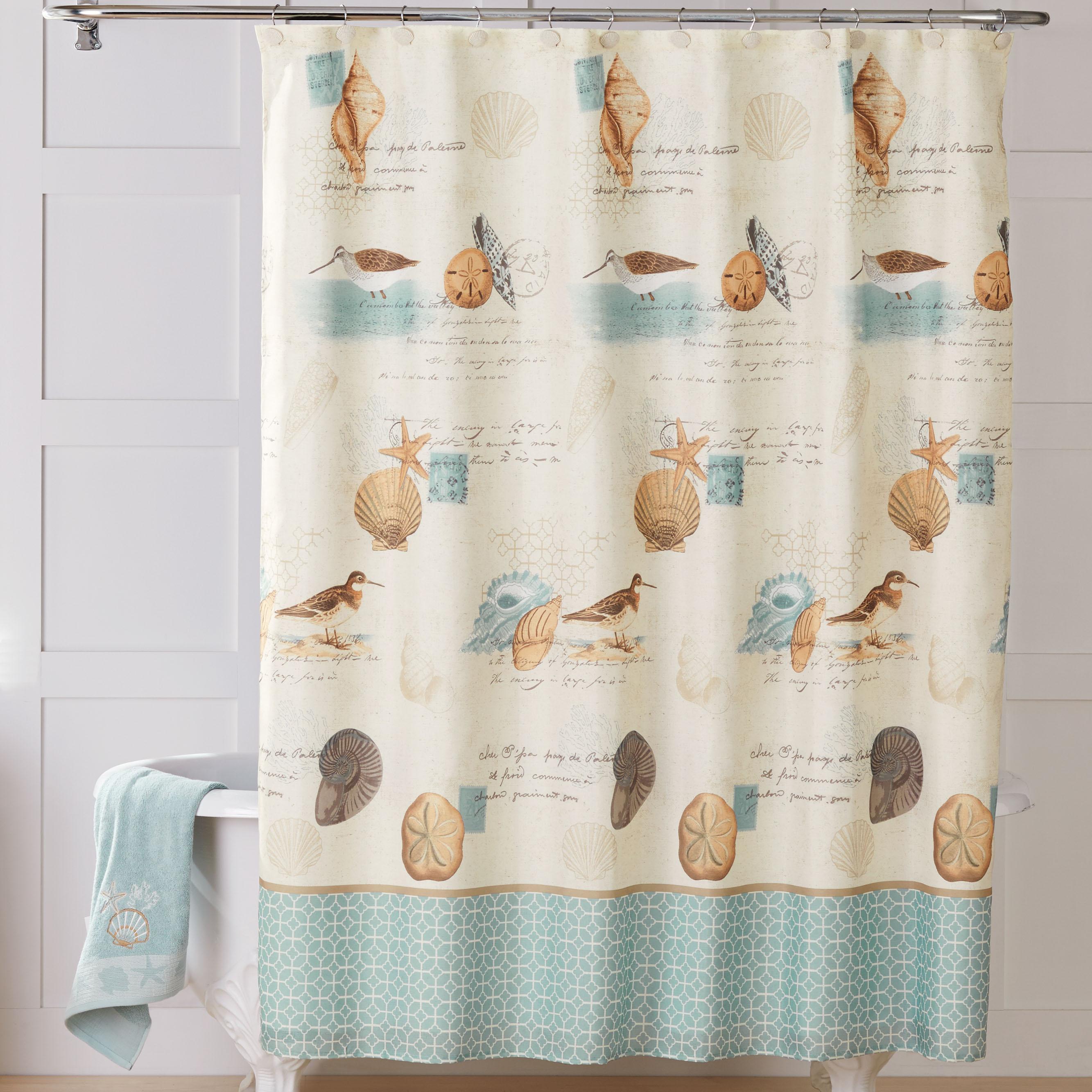 Walmart Shower CurtainsBetter Coastal Collage