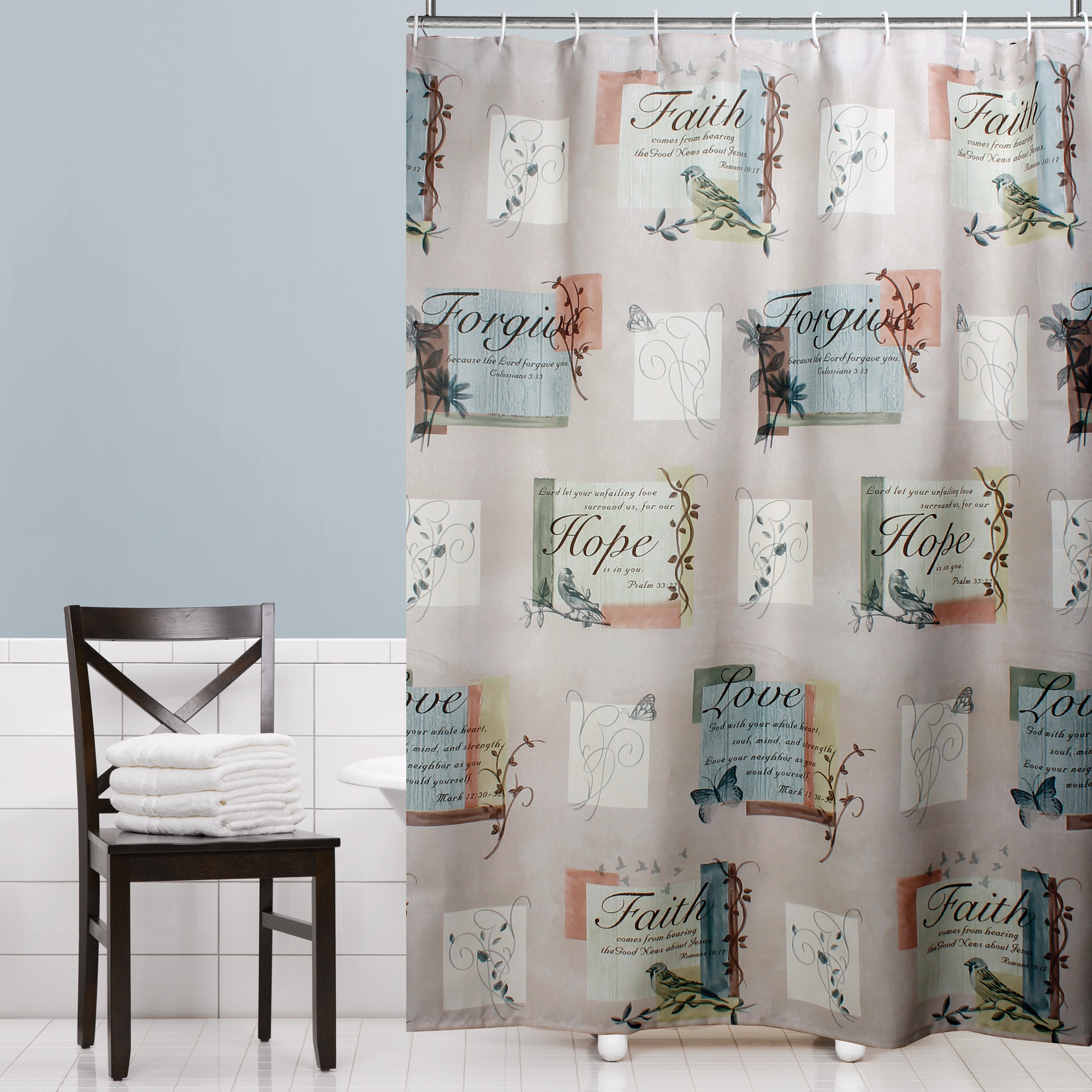 Walmart Shower CurtainsFabric Hopeful